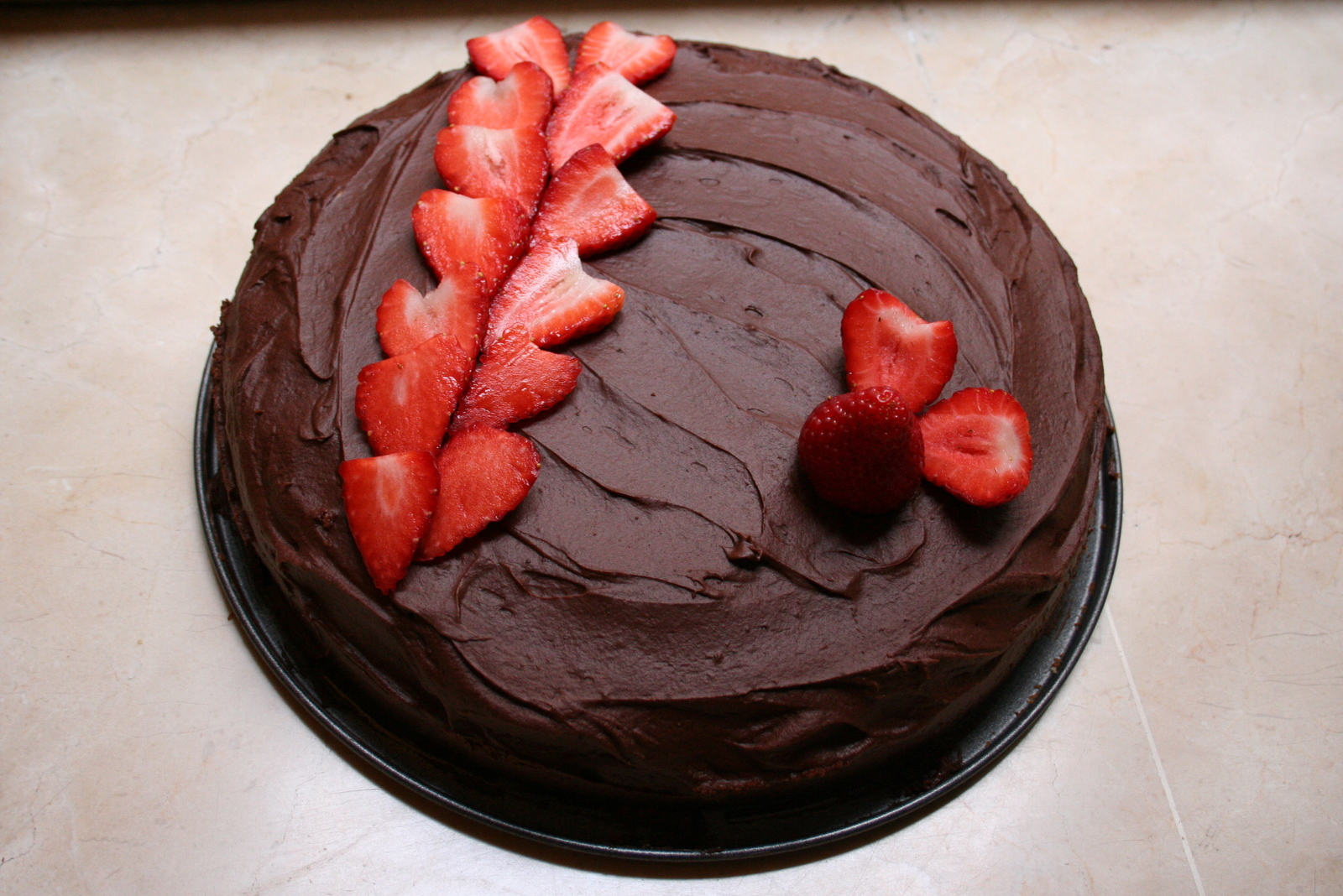 Strawberry And Chocolate Birthday Cake Sunday Baking